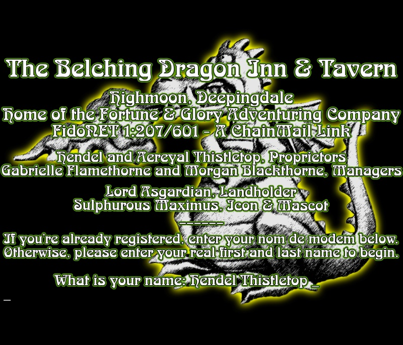 The Belching Dragon I&T